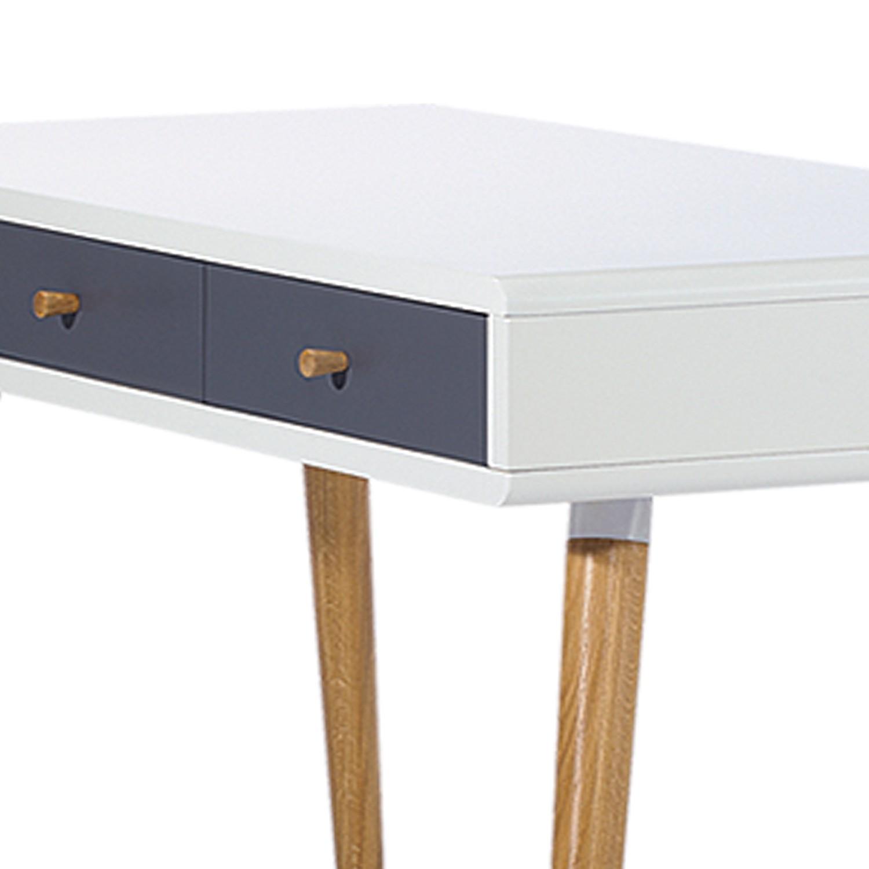 schreibtisch mokre eiche massiv wei eiche b rotisch arbeitstisch pc tisch ebay. Black Bedroom Furniture Sets. Home Design Ideas