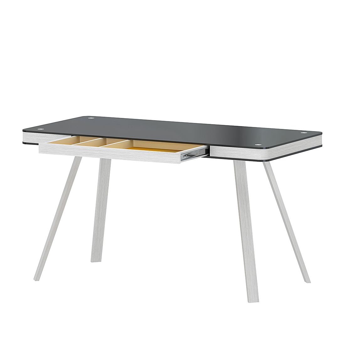 Bureau Smart Desk - zwart, Jahnke