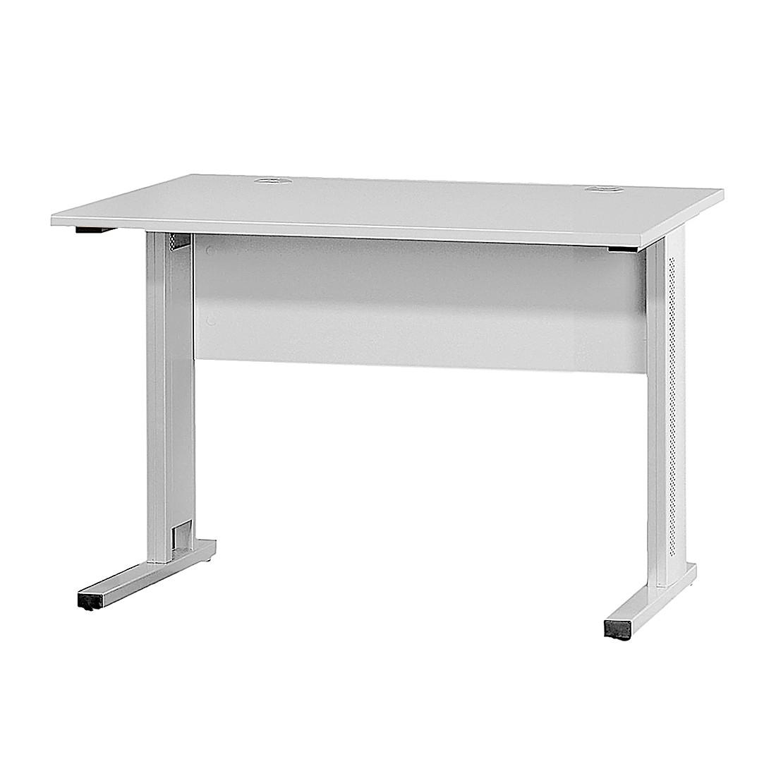 Home 24 - Bureau techno speed i - gris - 120 x 80 cm, röhr
