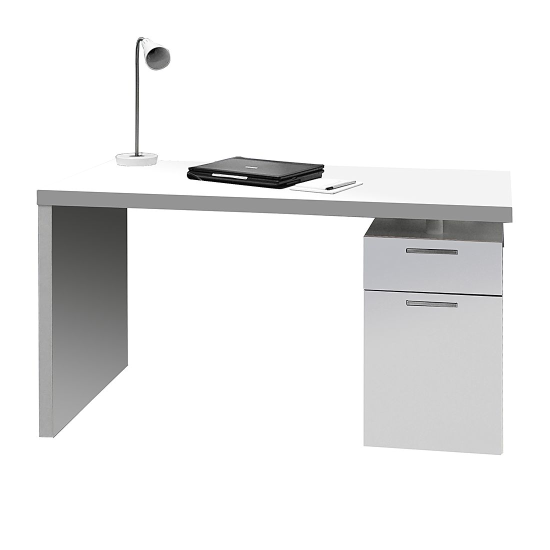 Home 24 - Bureau tema - avec caisson, home24 office