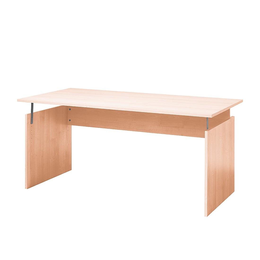 Home 24 - Bureau tomas viii - imitation hêtre - 160 cm, wellemöbel