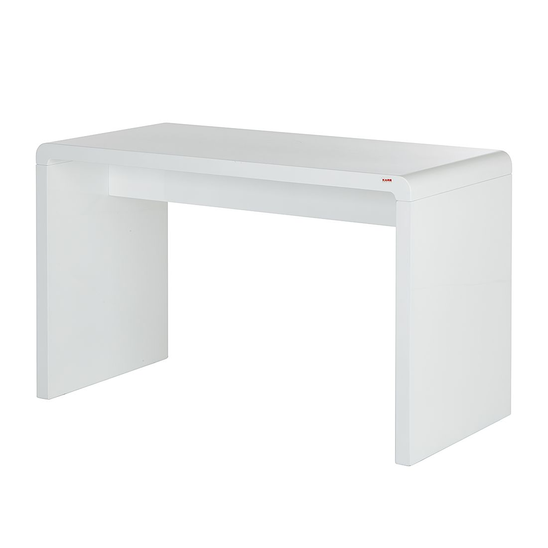 Home 24 - Bureau white club - largeur : 125 x 60 cm, kare design