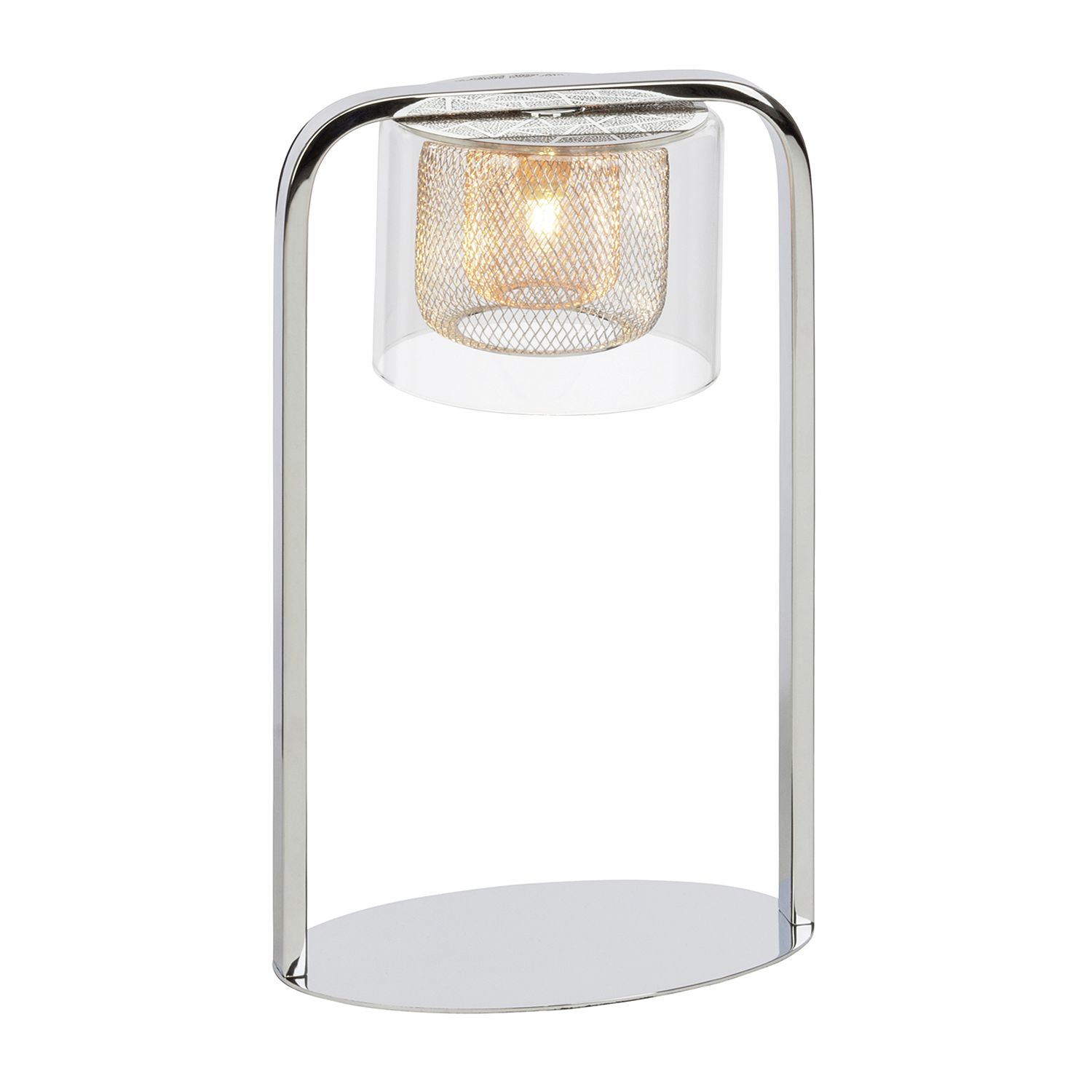 EEK A++, Lampe de bureau Magic - Verre / Métal - 1 ampoule, Brilliant