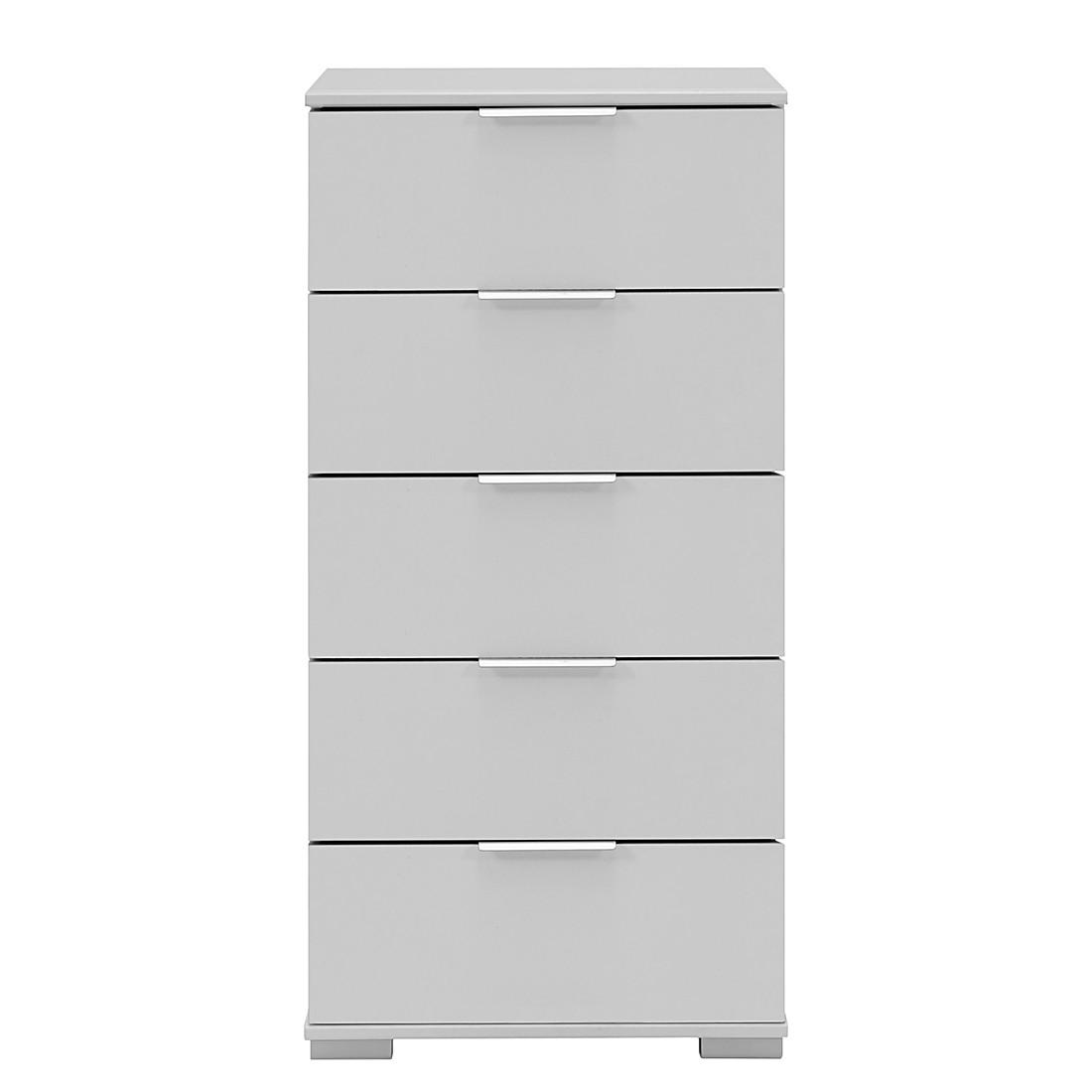 Commode à tiroirs Easy Plus II - Blanc alpin - Blanc alpin, Wimex