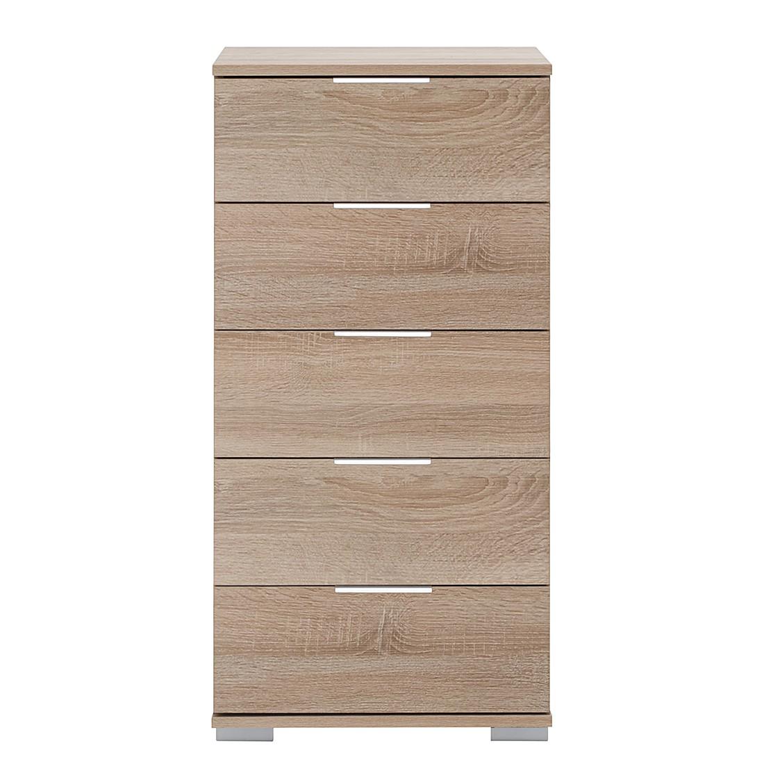 Commode à tiroirs Easy Plus II - Imitation chêne brut de sciage - Imitation chêne brut de sciage, Wi