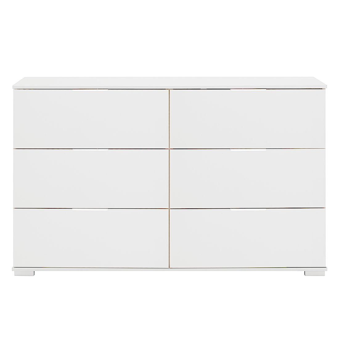 Commode à tiroirs Easy Plus III - Blanc alpin - Blanc alpin, Wimex