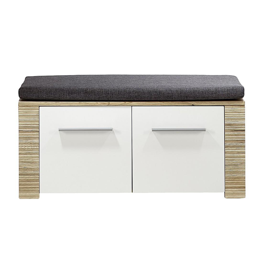 schuhbank wei hochglanz preisvergleich die besten. Black Bedroom Furniture Sets. Home Design Ideas