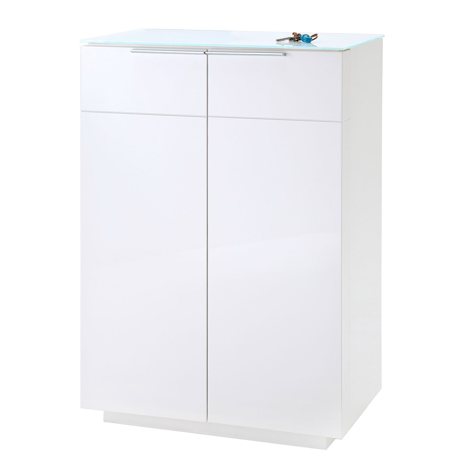 Commode Riverview - Blanc brillant, Fredriks