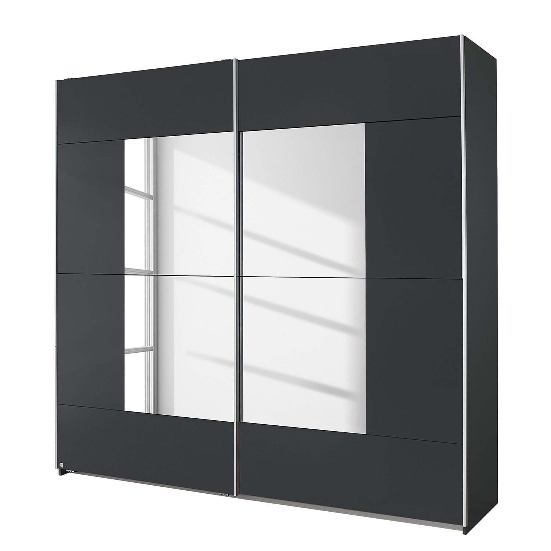 Armoire à portes coulissantes Crato - Gris métallisé - 175 cm (2 portes), Rauch Packs
