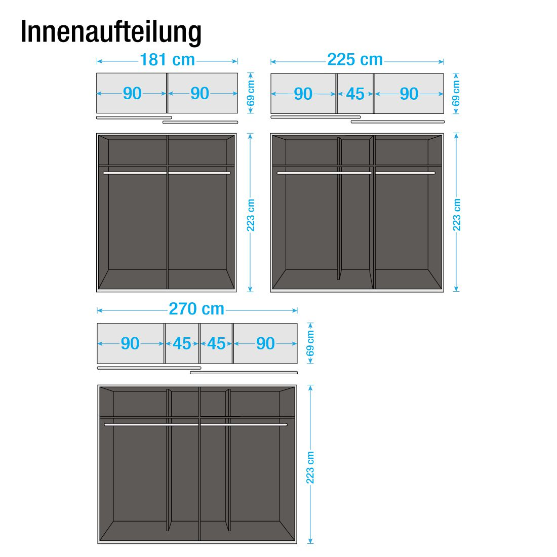 Schwebetürenschrank innenausstattung  Schwebetürenschrank Innenausstattung: Schwebet?renschrank ...