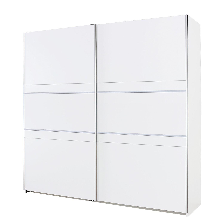 Schuifdeurkast Fontelo - Alpinewit - 175cm (2-deurs), Rauch Packs