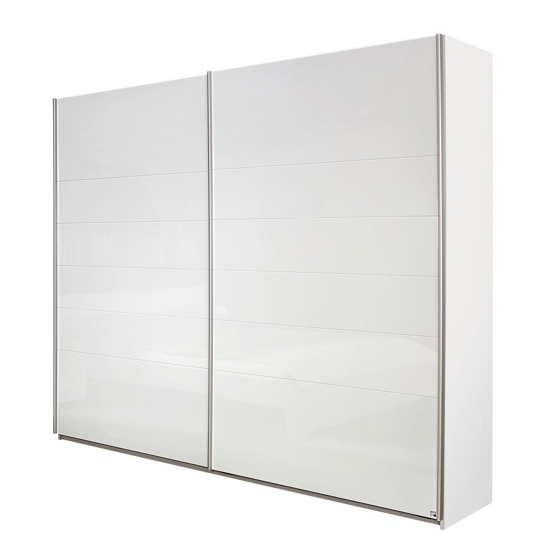 Armoire à portes coulissantes Lorca - Blanc alpin / Blanc brillant - 181 cm (2 portes), Rauch Packs
