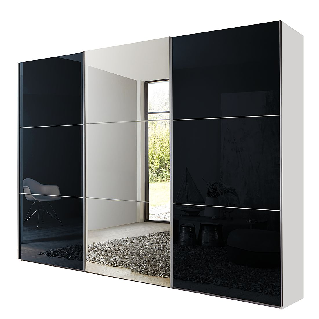 schwebet renschrank spiegel preisvergleich die besten angebote online kaufen. Black Bedroom Furniture Sets. Home Design Ideas