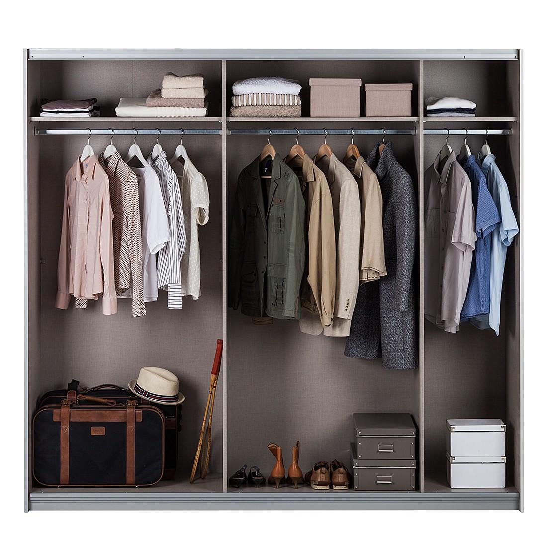 Schwebetürenschrank spiegel eiche  Rauch Pack´s Schwebetürenschrank – für ein schönes Zuhause | home24