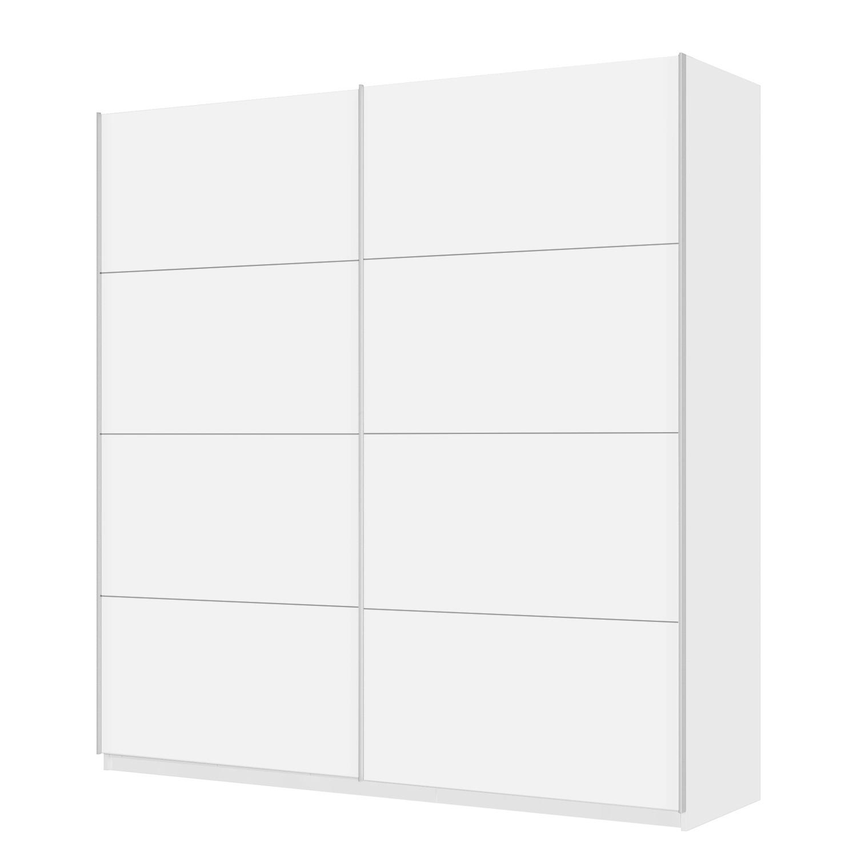 Schwebetuerenschrank SKØP - 225 cm (2-türig) - 236 cm - Comfort