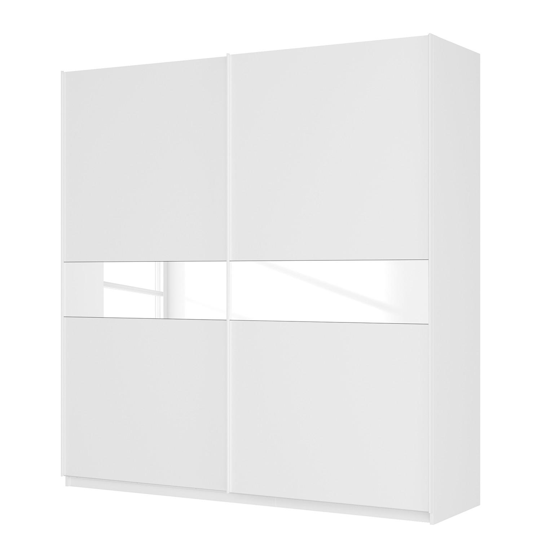 Zweefdeurkast Sk�p alpinewit-wit glas 181cm 225cm (2-deurs) 236cm Classic, SK�P