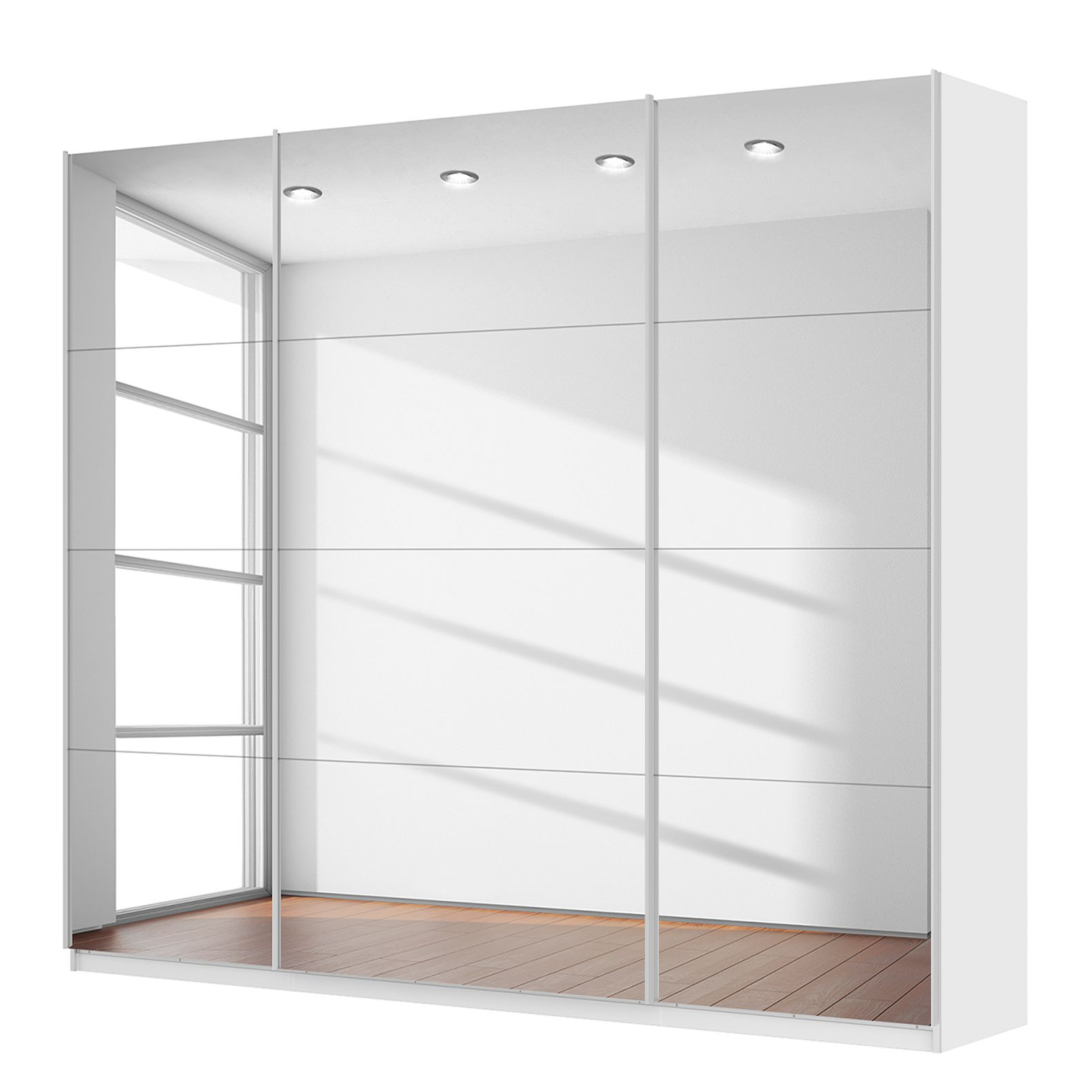 Home 24 - Armoire à portes coulissantes skØp - 270 cm (3 portes) - 236 cm - comfort, skØp
