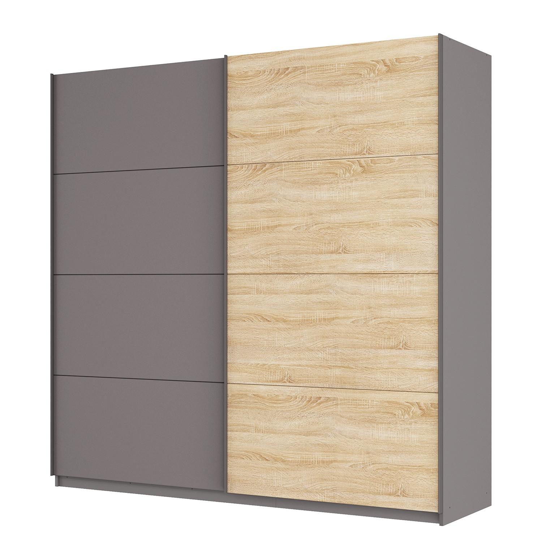 schwebet renschrank sk p graphit eiche sonoma dekor. Black Bedroom Furniture Sets. Home Design Ideas