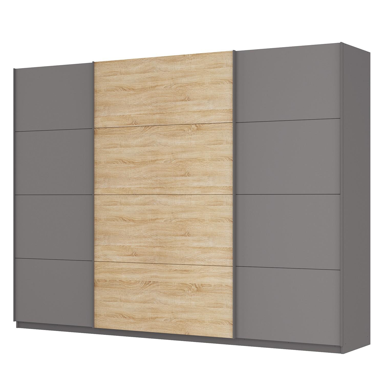 schwebet renschrank sk p graphit eiche sonoma dekor 315 cm 3 t rig 236 cm premium. Black Bedroom Furniture Sets. Home Design Ideas
