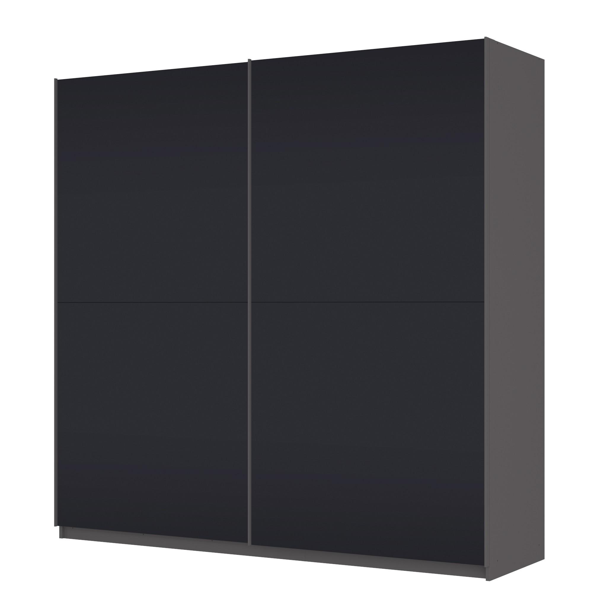 Schwebetürenschrank SKØP - 225 cm (2-türig) - 222 cm - Basic