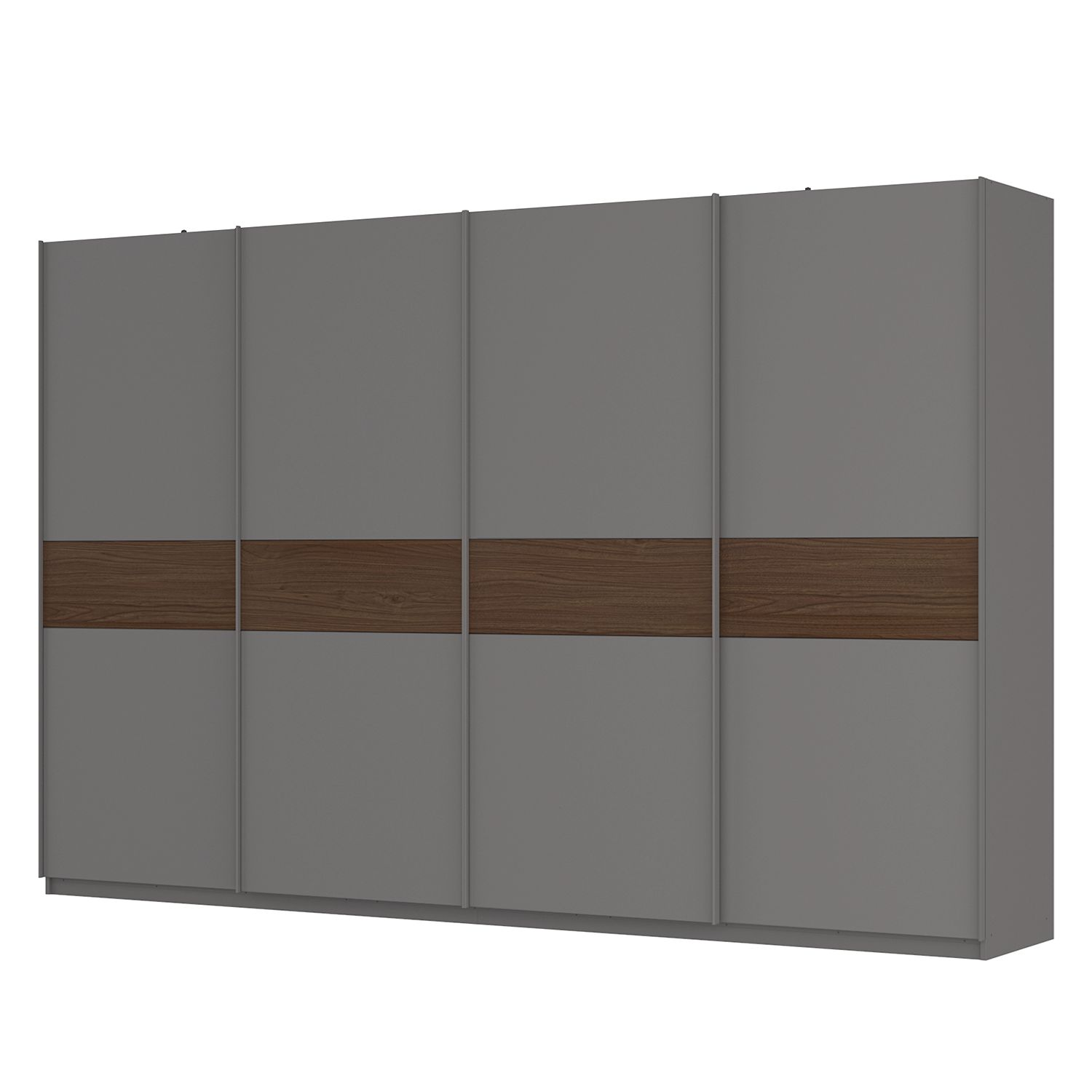 schwebet renschrank sk p graphit nussbaum royal dekor. Black Bedroom Furniture Sets. Home Design Ideas