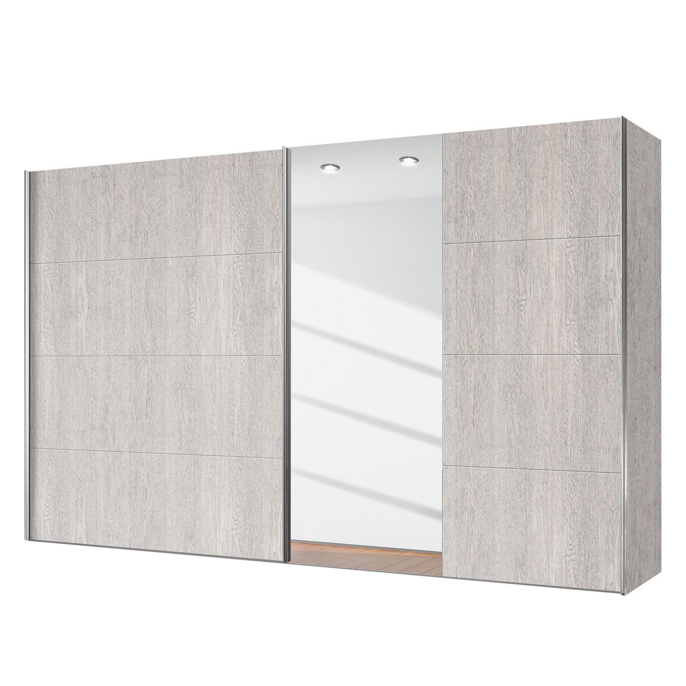 rabatt schwebet renschrank madrid eiche platin dekor spiegelglass 300. Black Bedroom Furniture Sets. Home Design Ideas