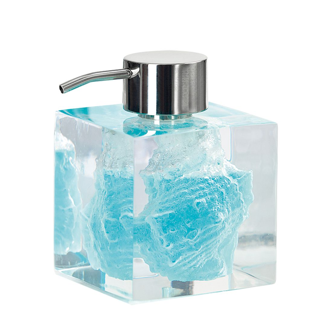 Home 24 - Distributeur de savon concha - transparent, batex