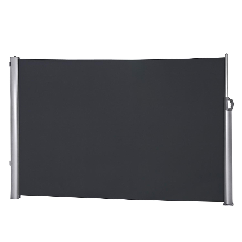 Seitenmarkise Kerry - Aluminium/Polyester - Anthrazit, Leco