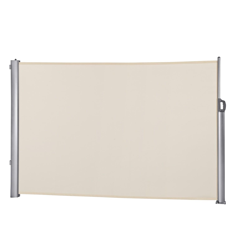 Seitenmarkise Kerry - Aluminium/Polyester - Natur, Leco