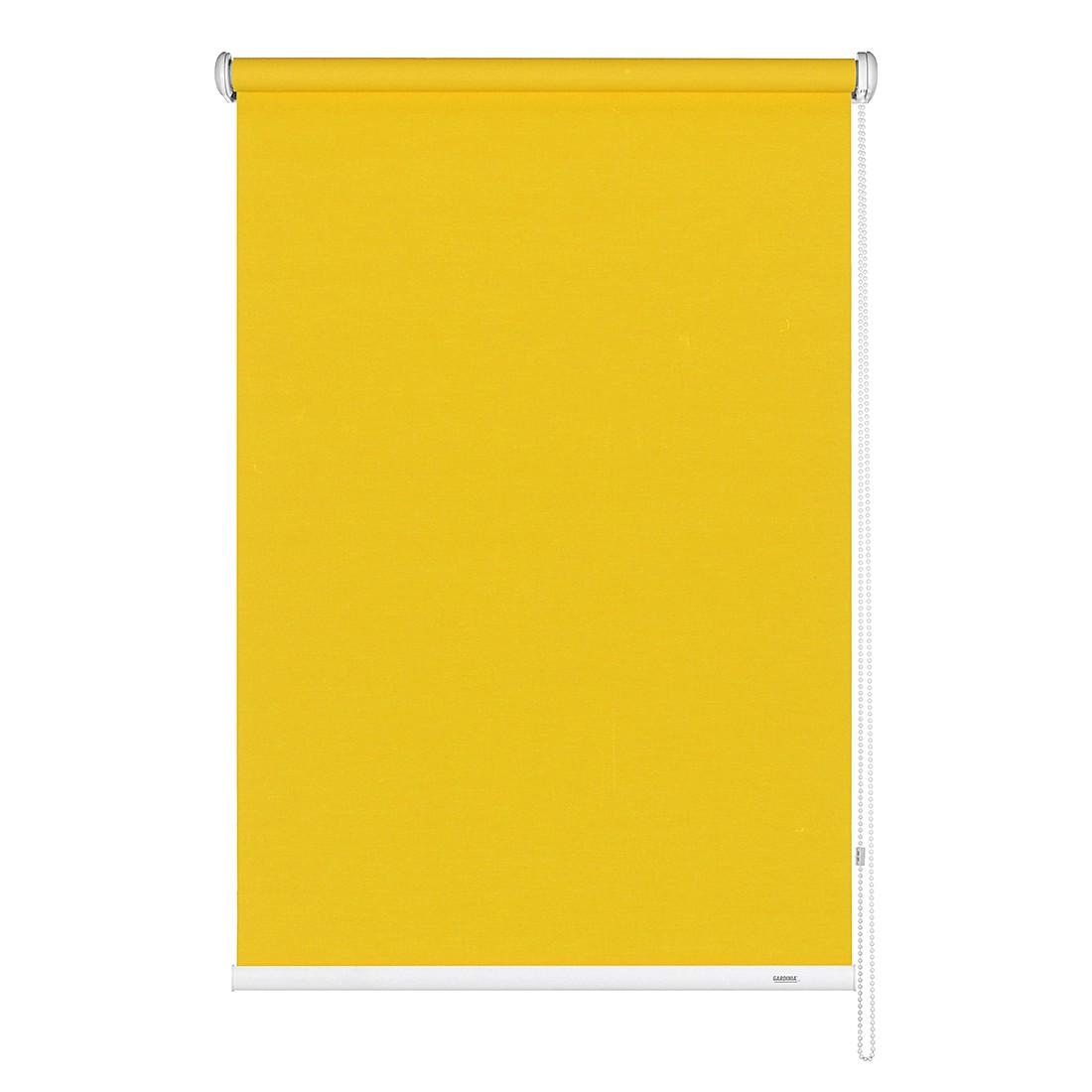 Home 24 - Store uni avec chaînette latérale - jaune - 112 x 180 cm, gardinia