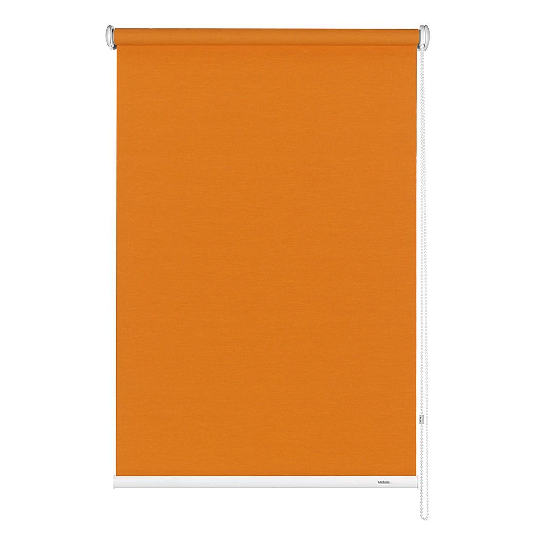 Home 24 - Store uni avec chaînette latérale - orange - 122 x 180 cm, gardinia