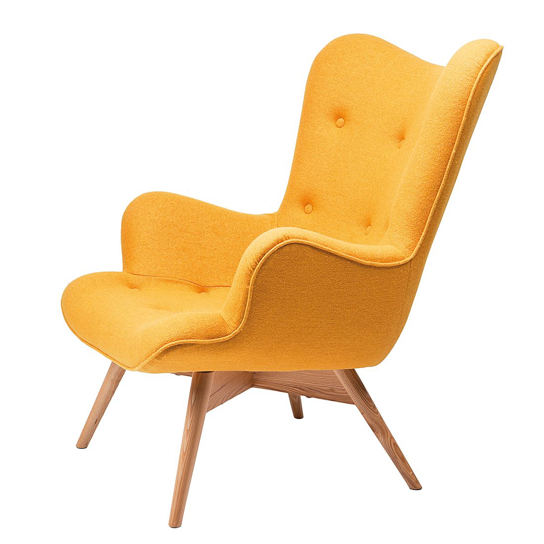 Fauteuil Angels Wings Yellow, Kare Design