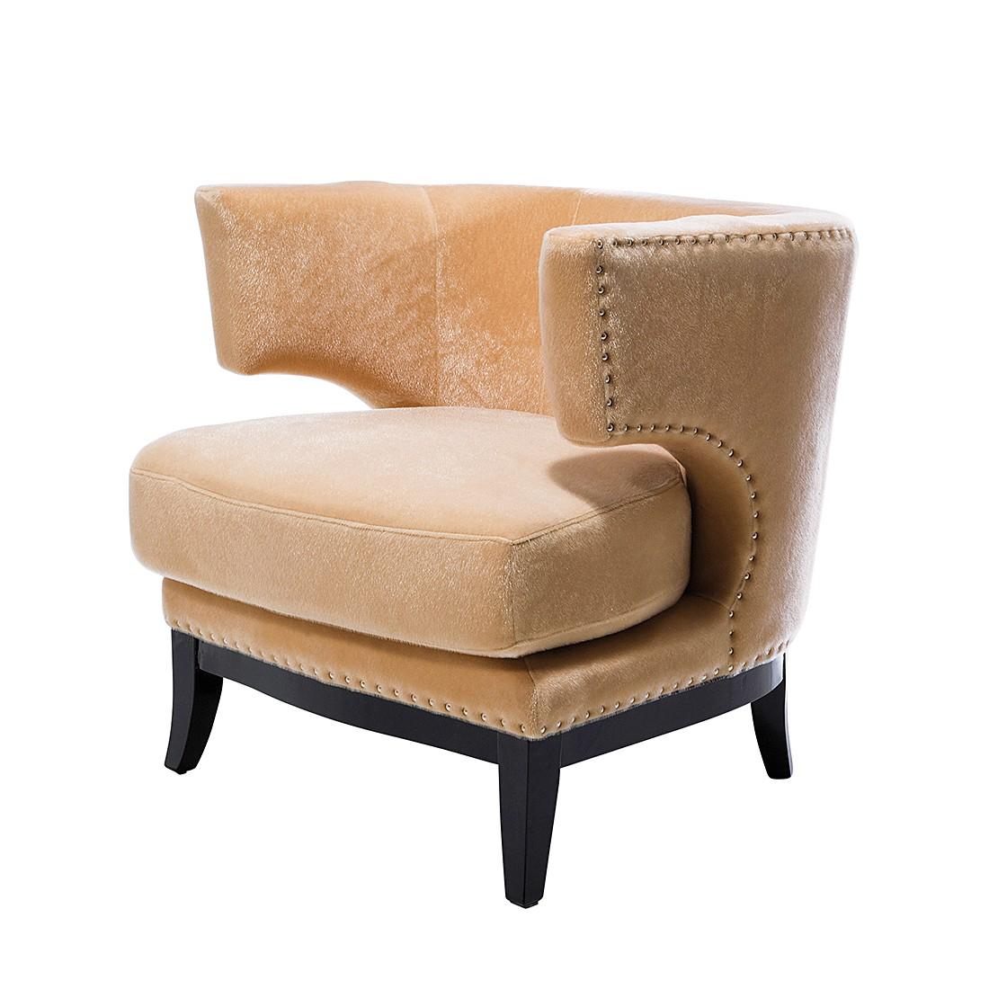 Fauteuil Art Deco - Velours beige, Kare Design