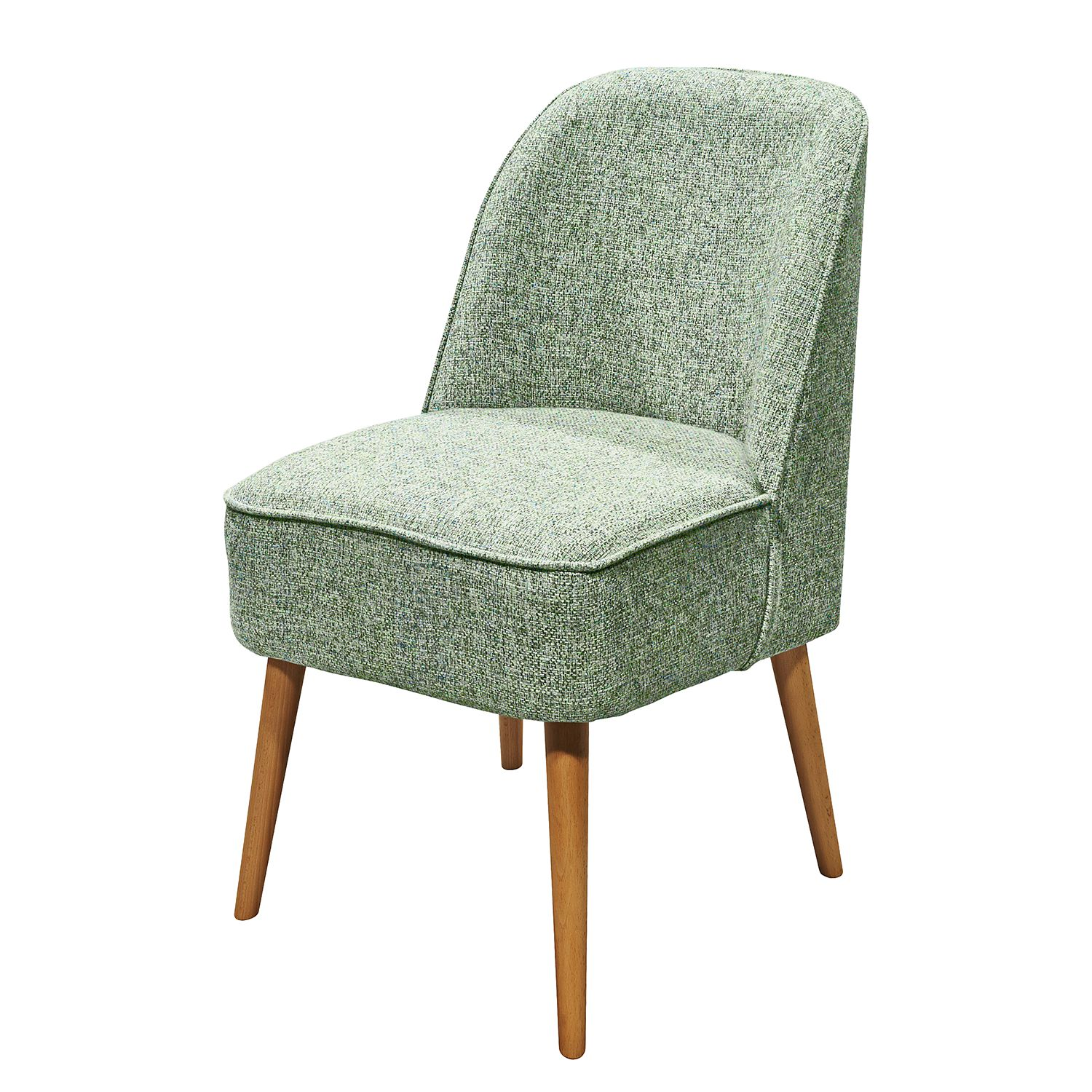 Fauteuil Capain - Tissu - Menthe, mooved