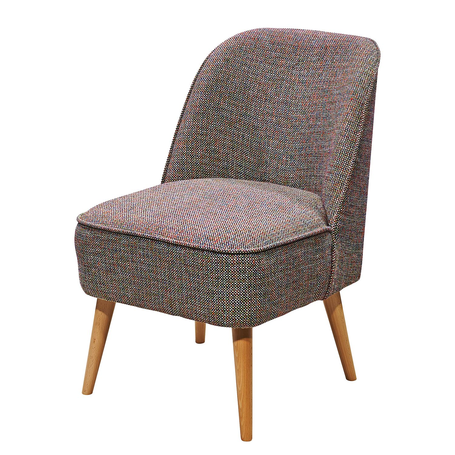 Fauteuil Capain - Tissu - Multicolore, mooved