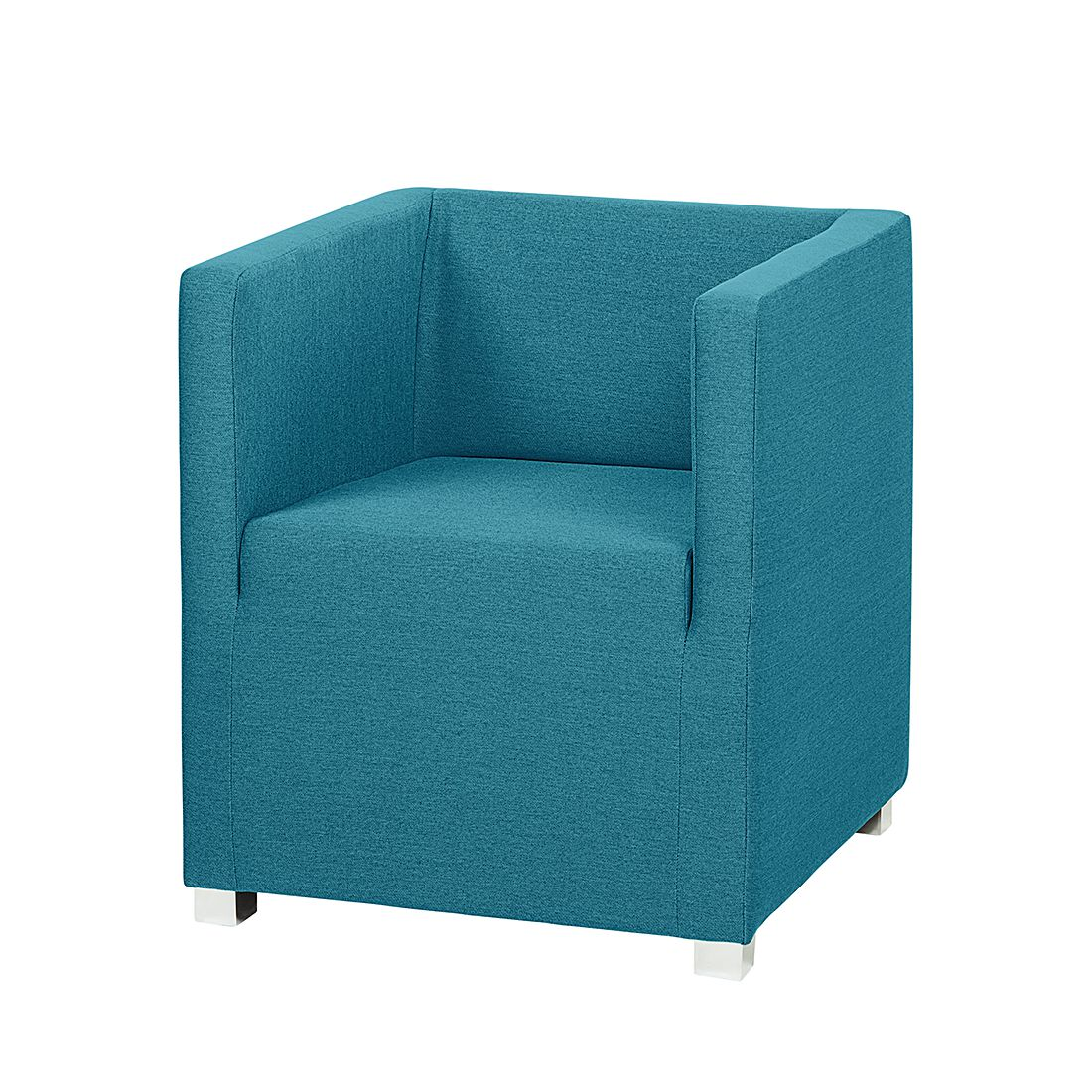 Fauteuil Carmen - Tissu turquoise, mooved