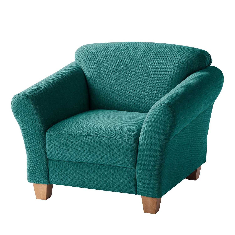 Fauteuil cebu tissu p trole maison belfort meubles en ligne for Ameublement en ligne