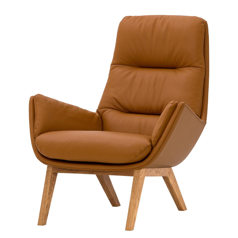 Faszinierend Sessel Kaufen Foto Von Garbo I - Echtleder - Eiche -