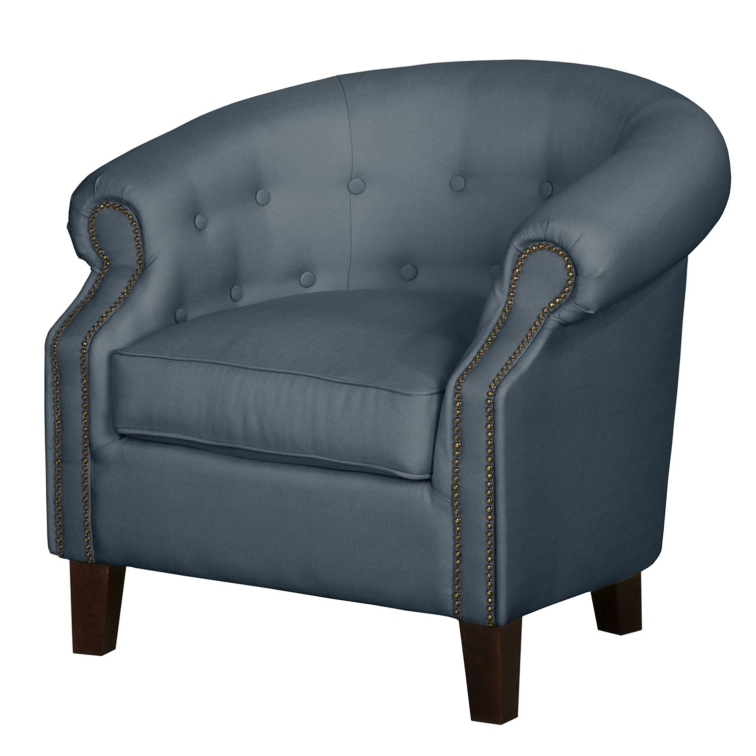 Fauteuil Great Hale II - Tissu - Gris pigeon, Jack and Alice