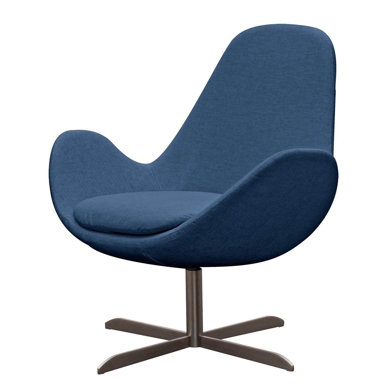 sessel houston ii webstoff edelstahl stoff anda ii blau g nstig. Black Bedroom Furniture Sets. Home Design Ideas