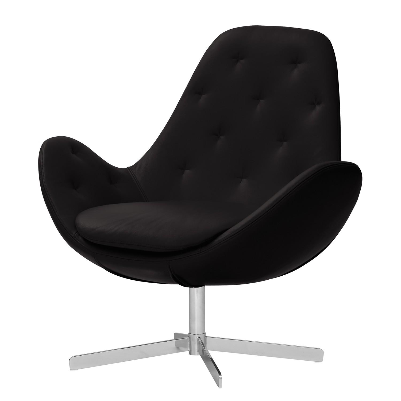 sessel houston iv echtleder chrom echtleder neka. Black Bedroom Furniture Sets. Home Design Ideas