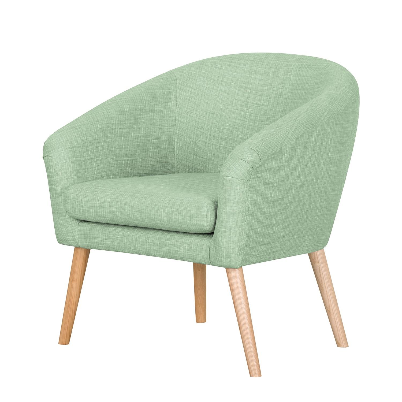 Fauteuil Ida I - Tissu - Vert pastel, Morteens