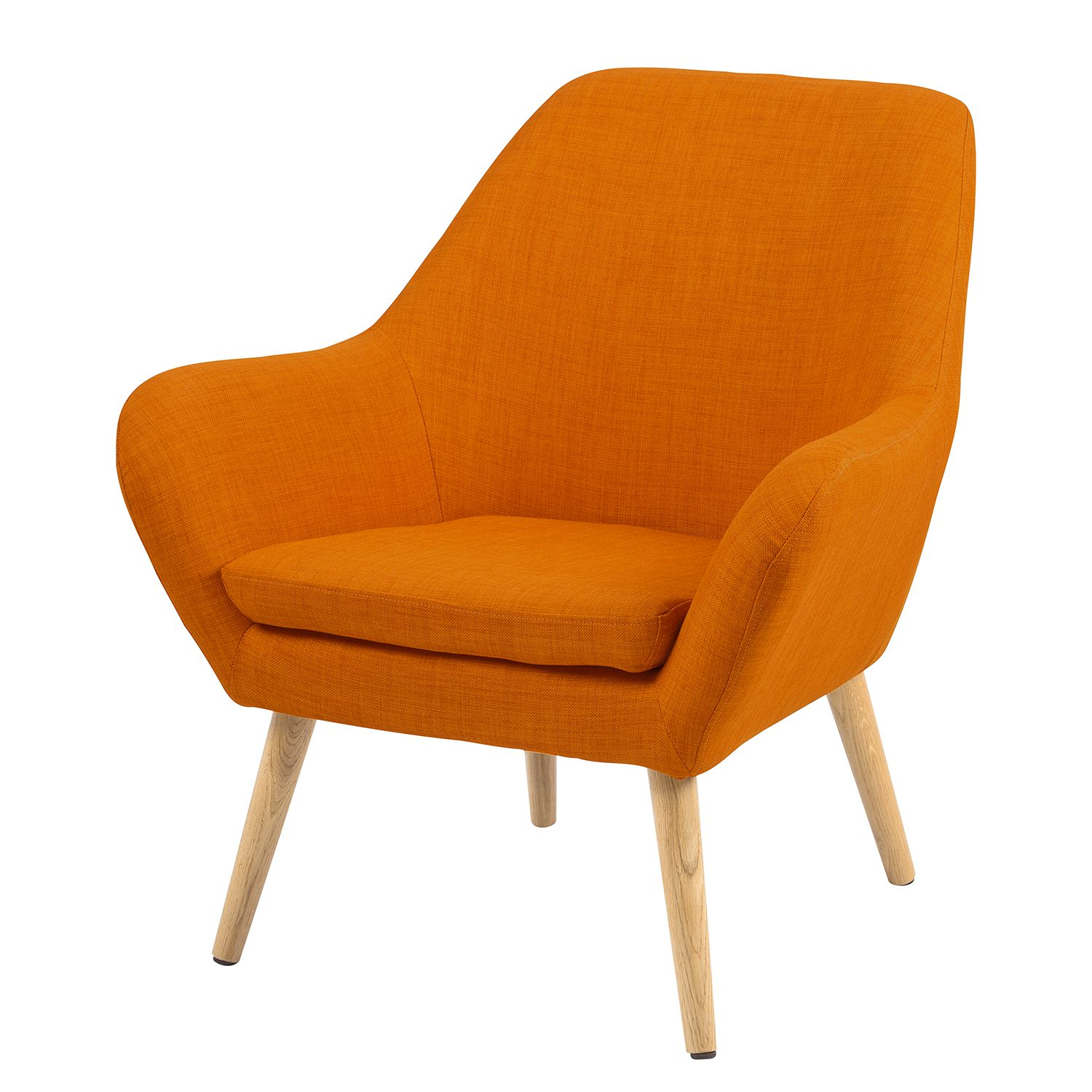 Sessel Jenks III - Webstoff - Orange, Norrwood