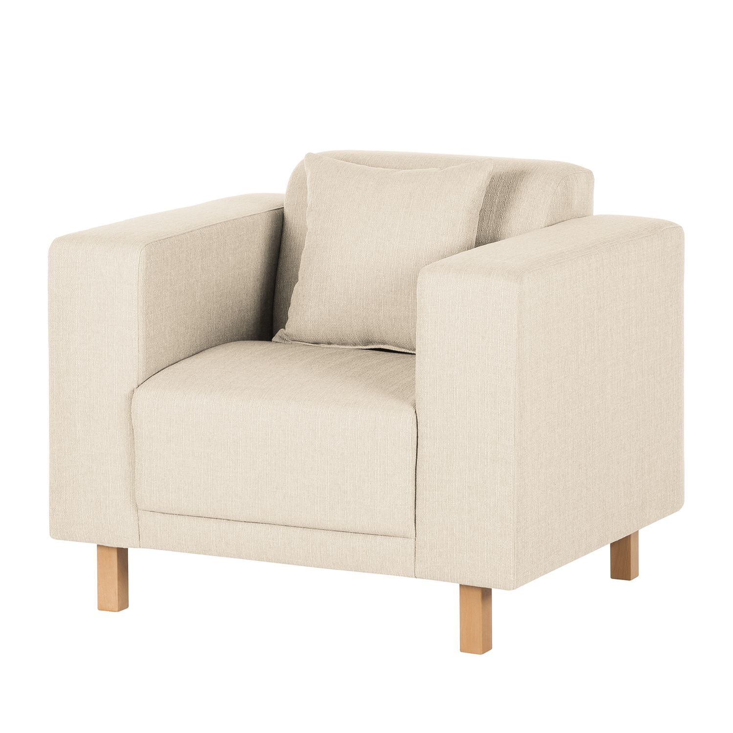 Fauteuil KiYDOO relax - Tissu - Crème, mooved