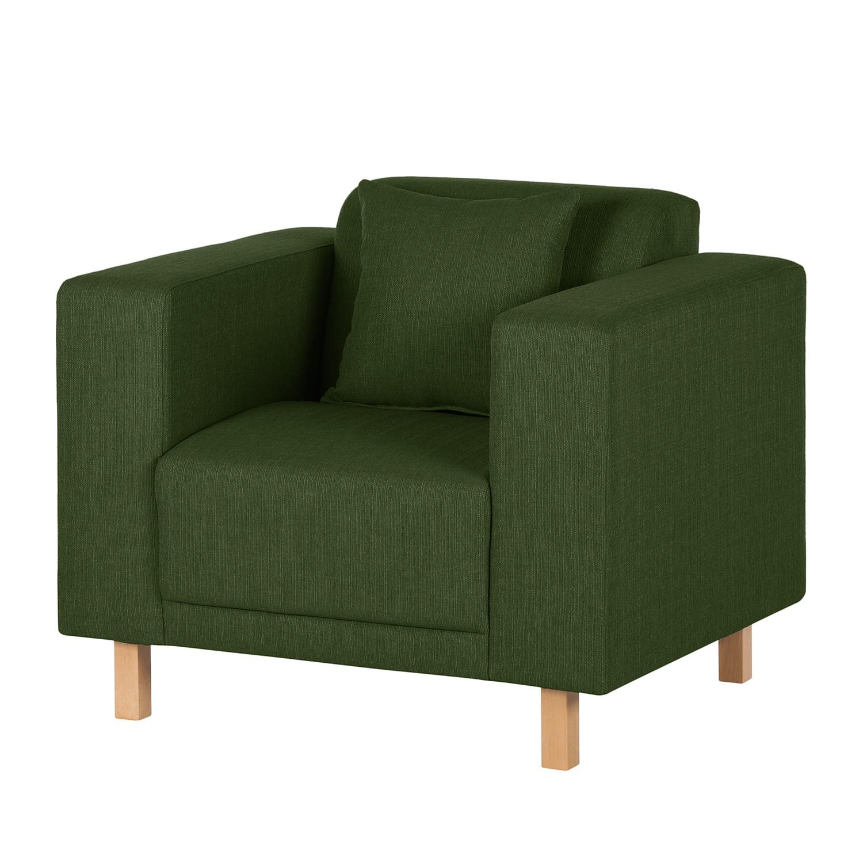 Fauteuil KiYDOO relax - Tissu - Vert foncé, mooved