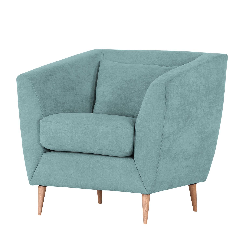 Fauteuil Lorneville - Tissu - Bleu acier, Norrwood