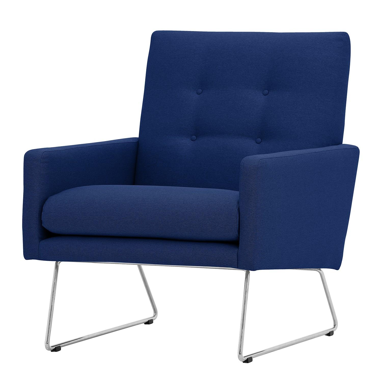 Fauteuil Maximus Tissu - Tissu Floreana Bleu foncé II, Studio Copenhagen