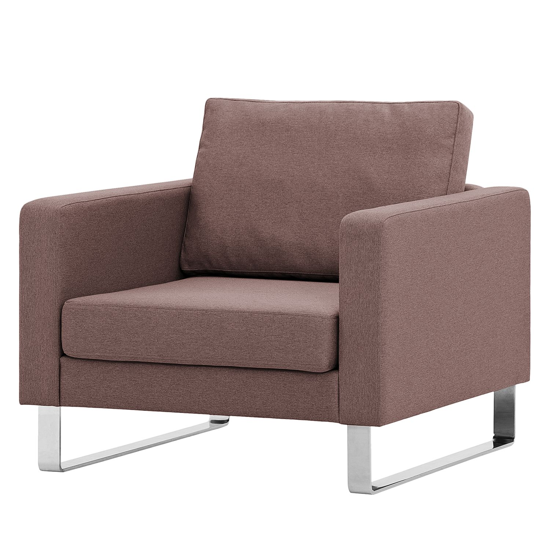 Sessel portobello webstoff kufen stoff milan grau for Sessel braun stoff