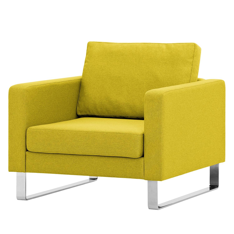 sessel portobello webstoff kufen stoff milan gelb. Black Bedroom Furniture Sets. Home Design Ideas