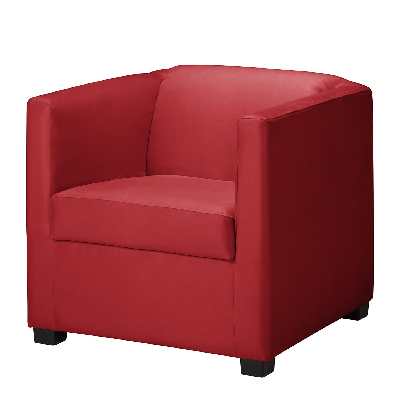 Fauteuil Richmond - Cuir synthétique - Rouge, loftscape